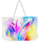 Butterfly Sound Abstract Weekender Tote Bag