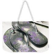 Butterfly Summer Weekender Tote Bag
