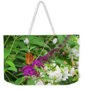 Butterfly Surprise Weekender Tote Bag