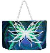 Butterfly Swirl Weekender Tote Bag