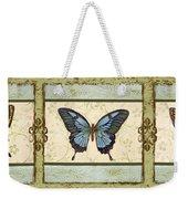 Butterfly Trio-3 Weekender Tote Bag
