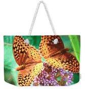 Butterfly Twins Weekender Tote Bag