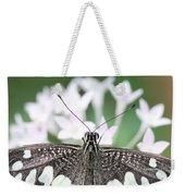 Butterfly View Weekender Tote Bag