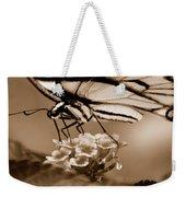 Butterfly Whisper Weekender Tote Bag