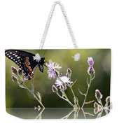 Butterfly With Reflection Weekender Tote Bag