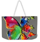 Butterfly World Map 2 Weekender Tote Bag