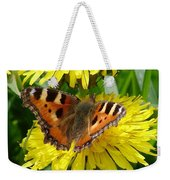 Butterfly Yellow Weekender Tote Bag