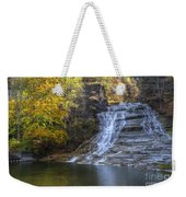 Buttermilk Falls Autumn Weekender Tote Bag