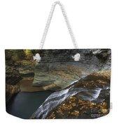 Buttermilk Falls In Autumn I Weekender Tote Bag
