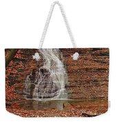 Buttermilk Falls Weekender Tote Bag by Marcia Colelli