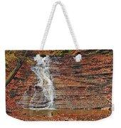 Buttermilk Waterfall Weekender Tote Bag by Marcia Colelli