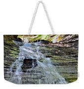 Butternut Falls Weekender Tote Bag by Frozen in Time Fine Art Photography