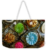 Button Biographies Weekender Tote Bag