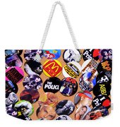 Button Crazy Weekender Tote Bag