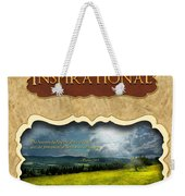 Button - Inspirational Weekender Tote Bag