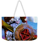 Pacific Northwest Washington Button Seed Pod Weekender Tote Bag