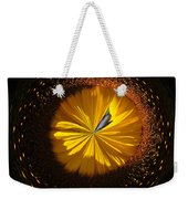 Button Of A Sunflower Weekender Tote Bag