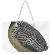 Button Quail Weekender Tote Bag by Anonymous
