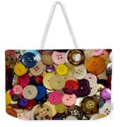 Buttons 670 Weekender Tote Bag