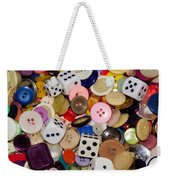 Buttons 674 Weekender Tote Bag