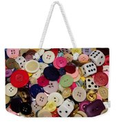 Buttons 678 Weekender Tote Bag