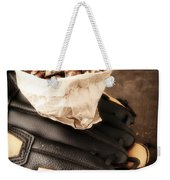 Buy Me Some Peanuts And Cracker Jack Weekender Tote Bag by Edward Fielding