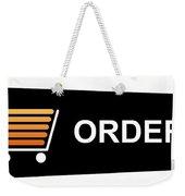 Buy Now Black Weekender Tote Bag