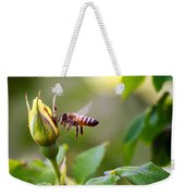 Buzz The Bee Weekender Tote Bag