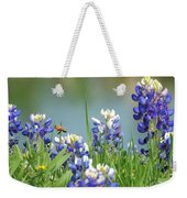 Buzzing The Bluebonnets 01 Weekender Tote Bag