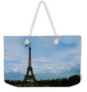 Buzzing The Tower Weekender Tote Bag