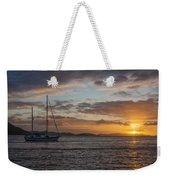 Bvi Sunset Weekender Tote Bag