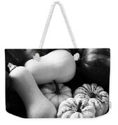 Bw Farm Market Acorn Butternut And Carnival Squash Michigan Usa Weekender Tote Bag