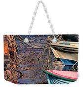 By A Nose Mykonos Greece Weekender Tote Bag