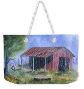 By The Barn Out Back Weekender Tote Bag