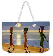 By The Beach Weekender Tote Bag by Tilly Willis