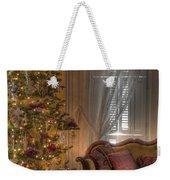 By The Christmas Tree Weekender Tote Bag