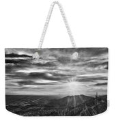 By The Light Of God Weekender Tote Bag