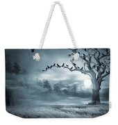 By The Moonlight Weekender Tote Bag by Lourry Legarde