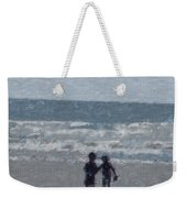 By The Ocean Weekender Tote Bag