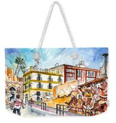 By The Old Cathedral In Cartagena 02 Weekender Tote Bag