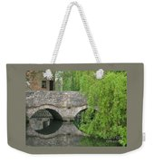 By The Old Mill Stream Weekender Tote Bag