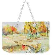 By The Pond Weekender Tote Bag