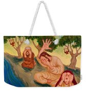 By The Rivers Of Babylon - Psalm 137 Weekender Tote Bag