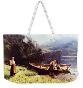 By The Waters Edge Weekender Tote Bag