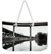 By Train Boat Or Automobile Weekender Tote Bag