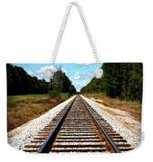 Never Ending Tracks Weekender Tote Bag