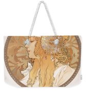 Byzantine Head Of A Blond Maiden Weekender Tote Bag