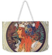 Byzantine Head The Blonde Weekender Tote Bag