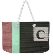 C  Weekender Tote Bag