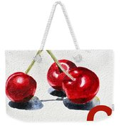 C Art Alphabet For Kids Room Weekender Tote Bag